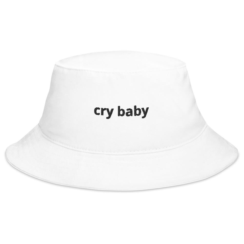 "'Cry Baby"" Unisex Bucket Hat - Kerassi"