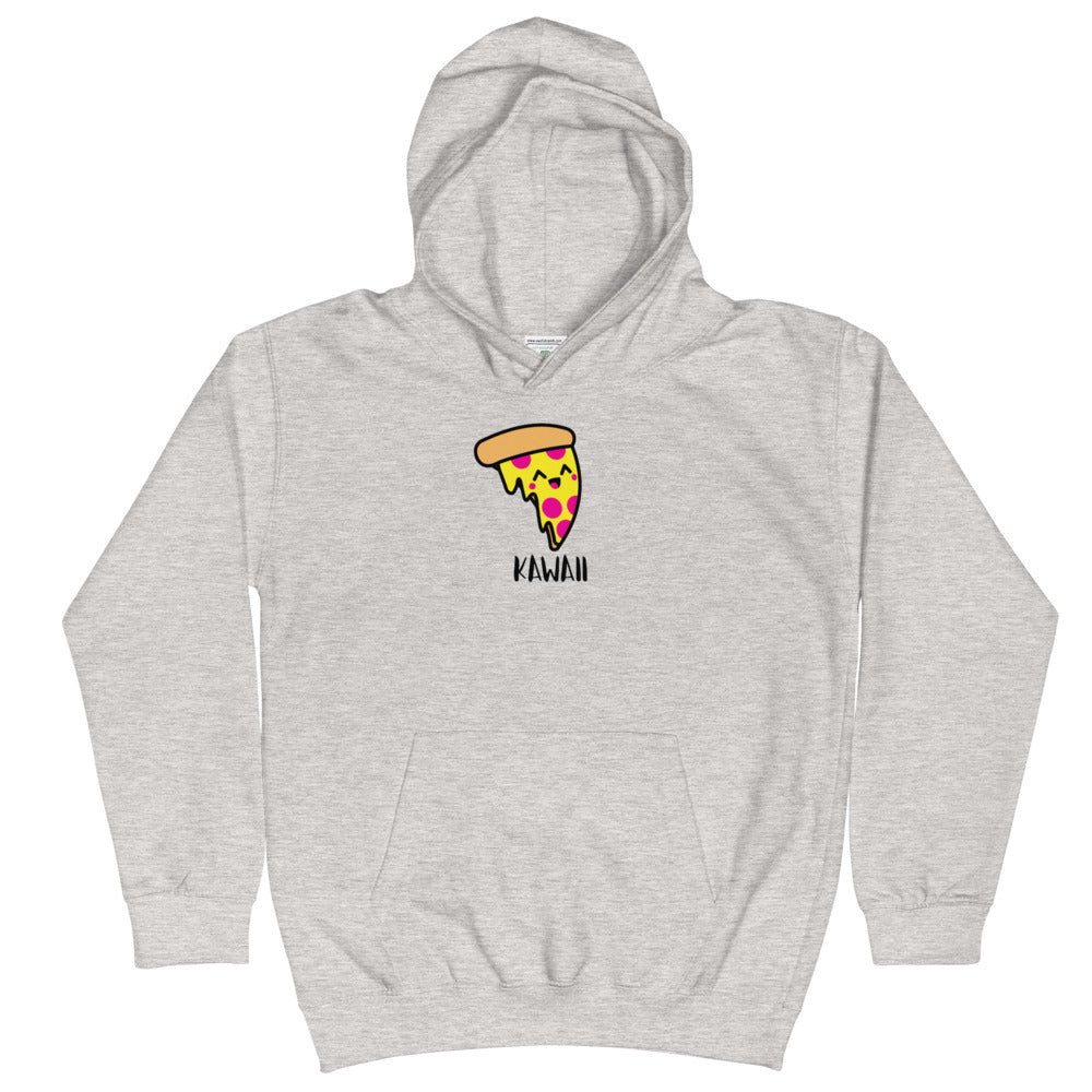 """Issa Pizza"" Girl Kids Cotton Hoodie"