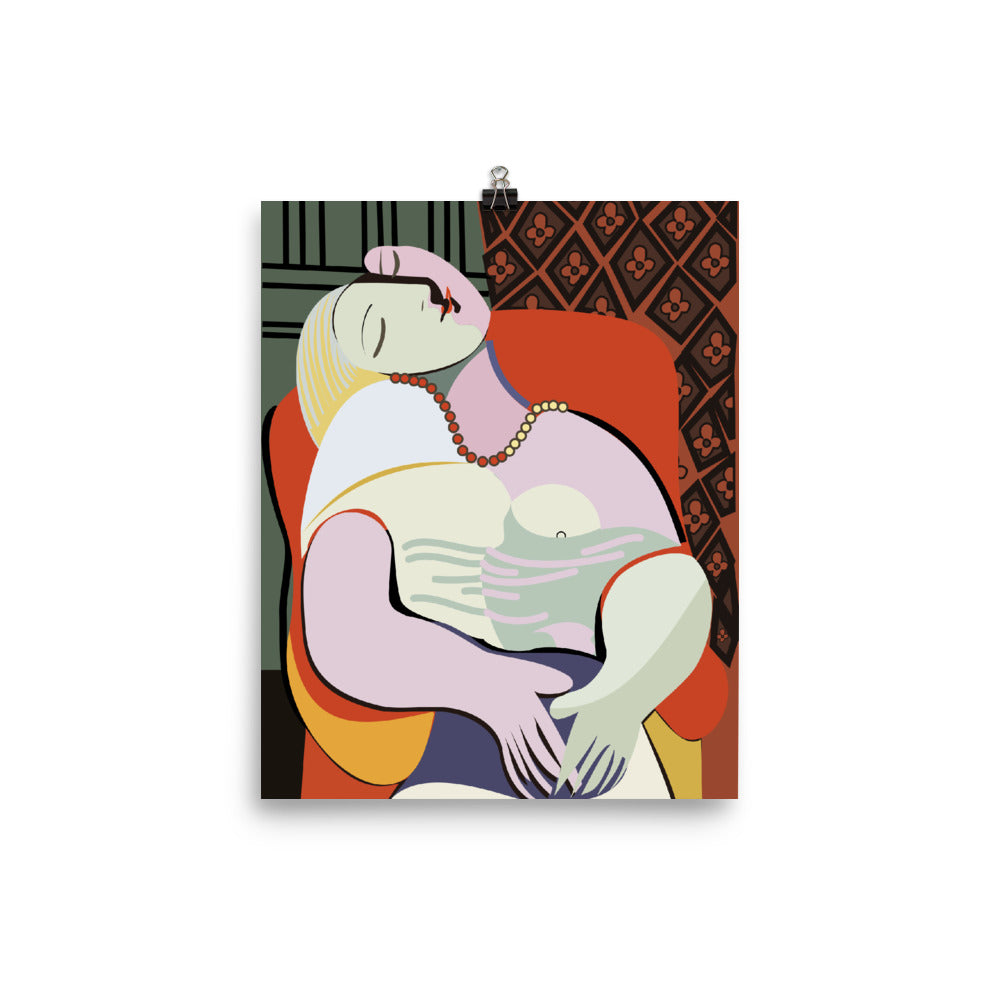 """The Woman"" Home  or Office Abstract Art Decor Poster - Kerassi"
