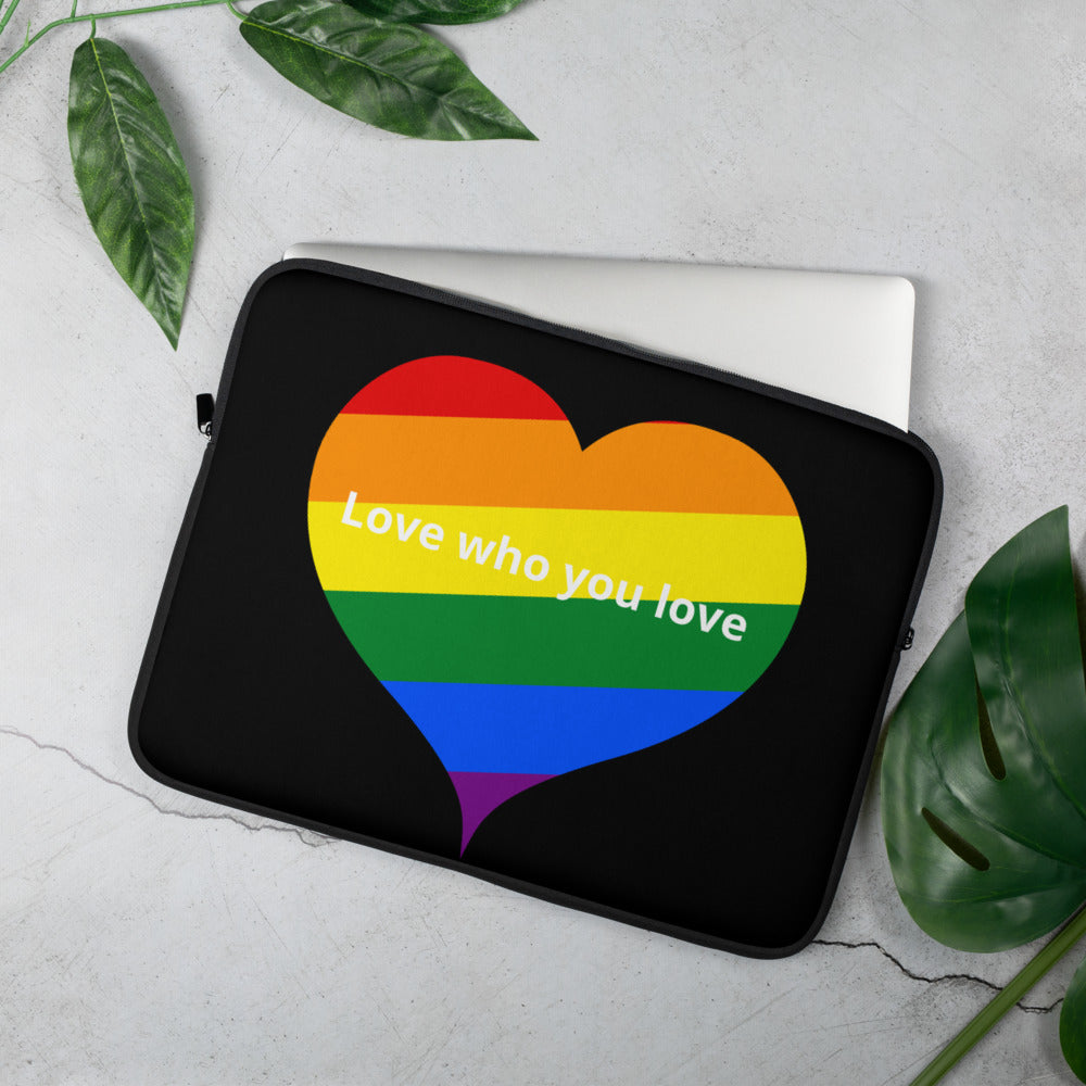 """Love Pride"" Laptop Sleeve - Kerassi"