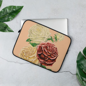 """Rose Garden""  Laptop Sleeve - Kerassi"