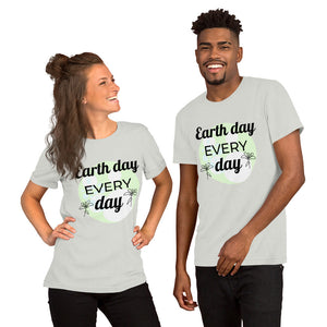 Earth Day Every Day Short-Sleeve Unisex Short Sleeve T-Shirt - Kerassi