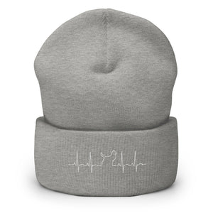 """Dog Support"" Unisex Cuffed Beanie - Kerassi"
