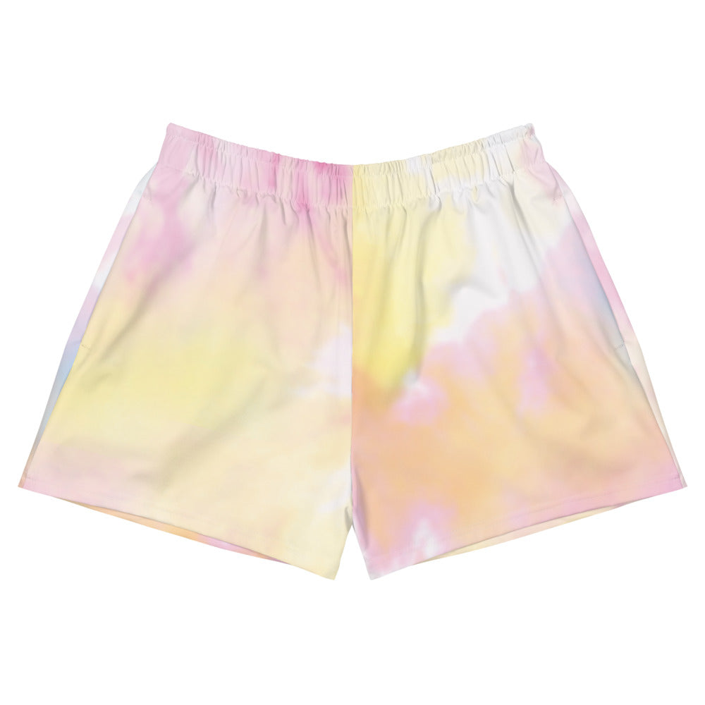"""Tie Dye, Girl Bye"" Women's Athletic Short Shorts - Kerassi"