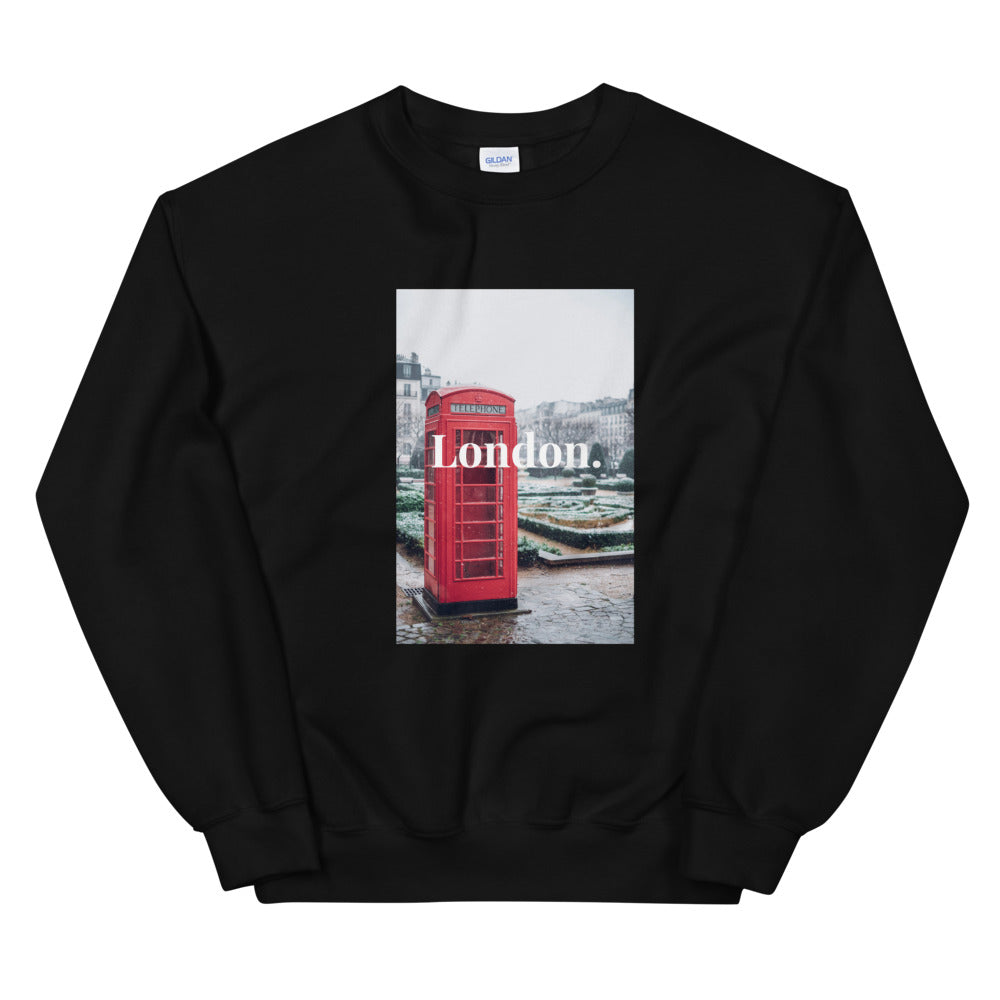 """London City"" Unisex Sweatshirt - Kerassi"