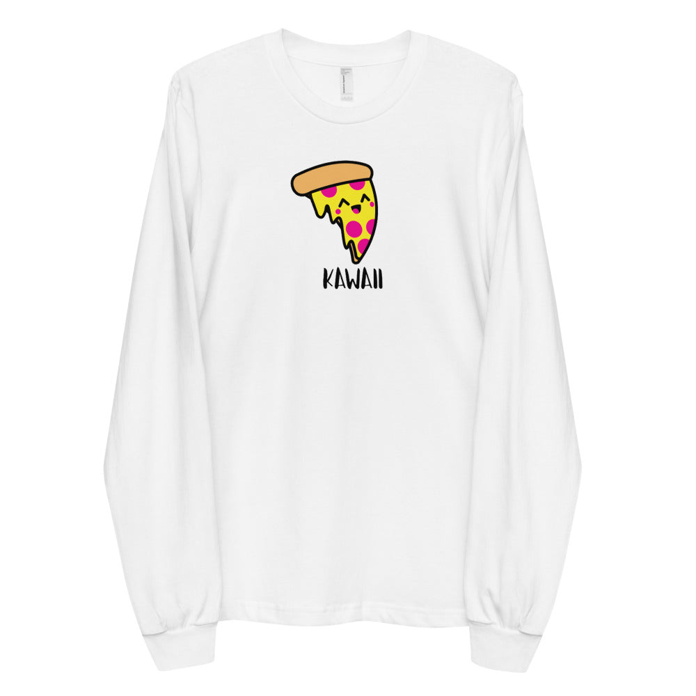 """Issa Pizza"" Adult Unisex Long Sleeve Cotton Shirt"