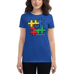 Autism Awareness Unisex Short Sleeve Cotton T-shirt