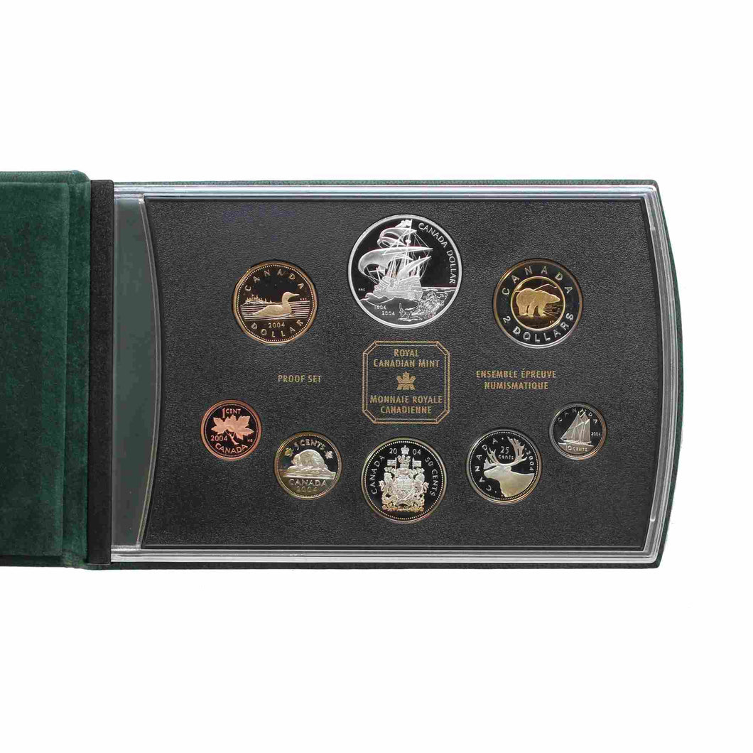 SOLD - 2004 - Canada - Double Dollar Set - Proof