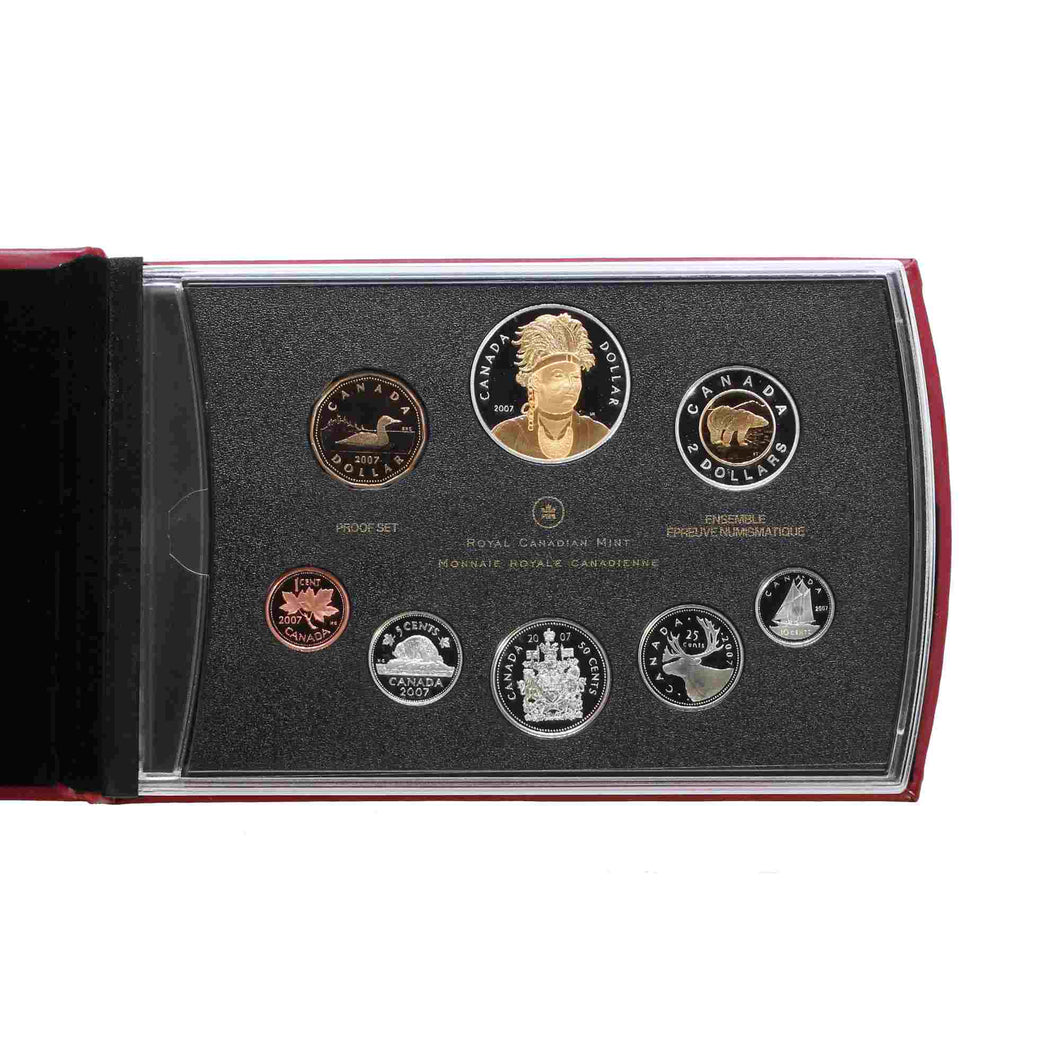 SOLD - 2007 - Canada - Double Dollar Set - Proof