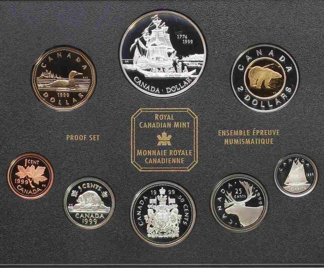 1999 - Canada - Double Dollar Set - Proof