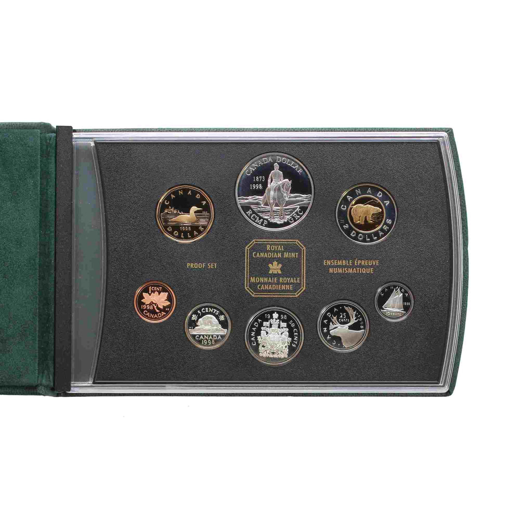SOLD - 1998 - Canada - Double Dollar Set - Proof