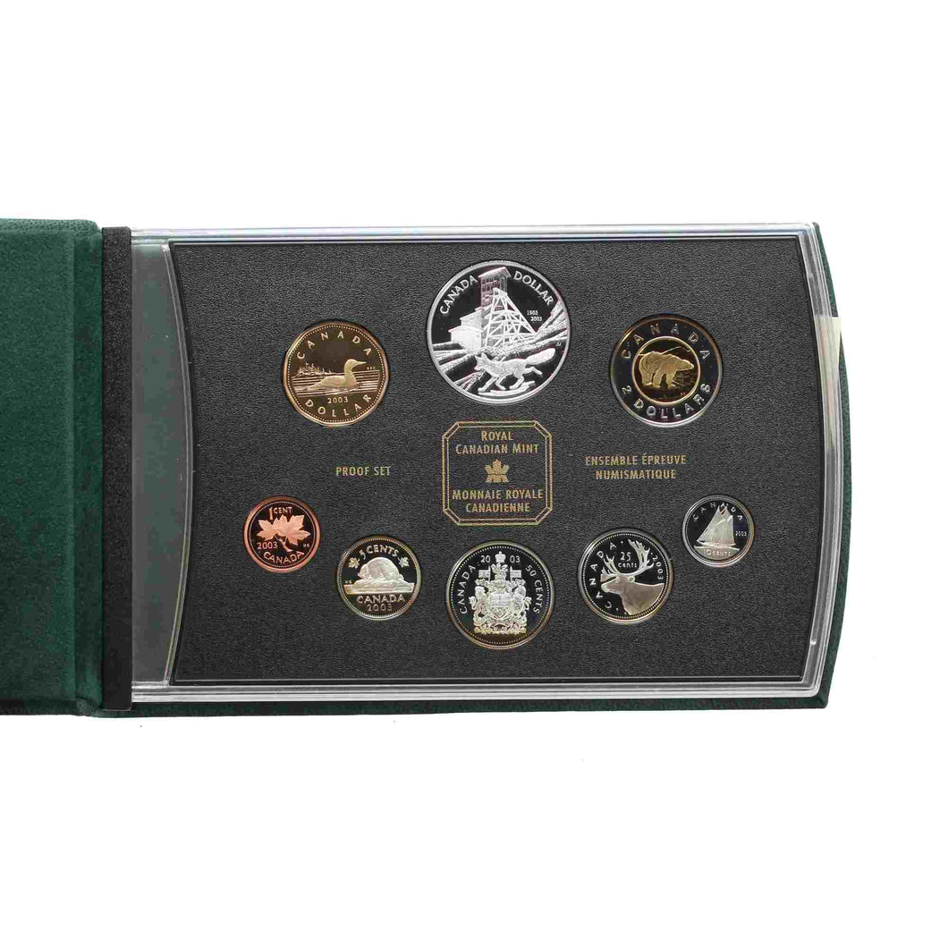 SOLD - 2003 - Canada - Double Dollar Set - Proof