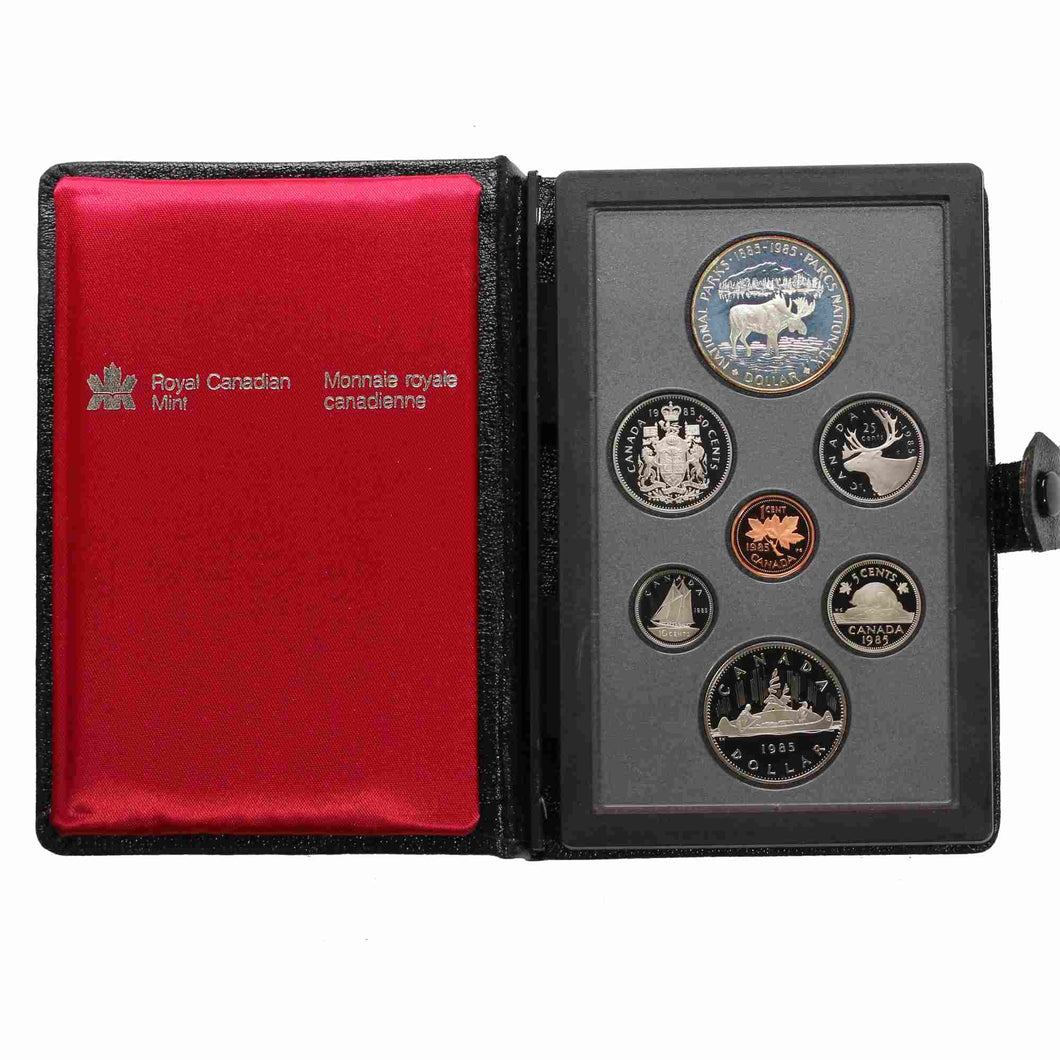 SOLD - 1985 - Canada - Double Dollar Set - Proof