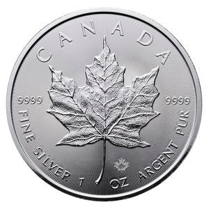 SOLD - 2017 Silver Maple Leaf 1 oz