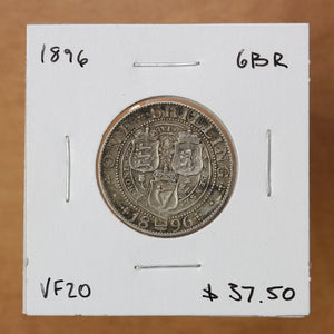 SOLD - 1896 - Great Britain - 1 Shilling - VF20 ON SALE!