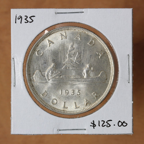 1935 - Canada - $1 - MS64 - retail $125 - 25% OFF!