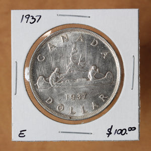 1937 - Canada - $1 - MS63 - retail $100
