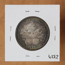Load image into Gallery viewer, SOLD - 1893 - USA - 50c - Columbian Exposition Commemorative - UNC - retail $120 - 30% OFF!