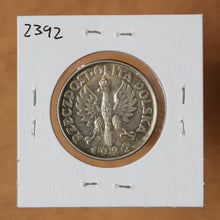 Load image into Gallery viewer, 1925 (London) - Poland - 2 Zlote - Dot after Date - retail $250