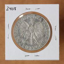 Load image into Gallery viewer, 1933 - Poland - 10 Zlotych - Jan Sobieski - retail $190