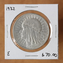 Load image into Gallery viewer, 1932 - Poland - 10 Zlotych - Queen Jadwiga (No Mint Mark) - retail $60