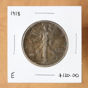 1918 - USA - 50c - Circulated - retail $120