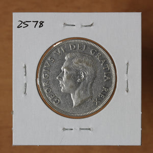 SOLD - 1948 - Canada - 50c - VF30 - retail $185