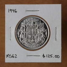 Load image into Gallery viewer, 1946 - Canada - 50c - MS62 - retail $125