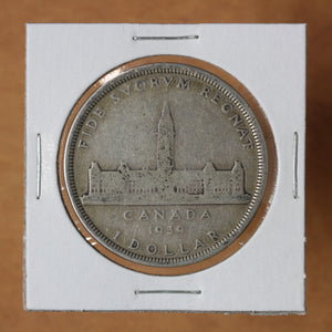 SOLD - 1939 - Canada - $1 - Pocket Piece