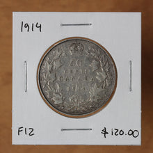 Load image into Gallery viewer, 1914 - Canada - 50c - F12 - retail $120