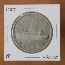 Load image into Gallery viewer, SOLD - 1937 - Canada - $1 - Pocket Piece