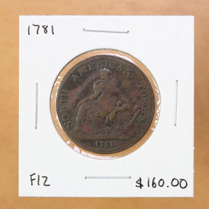 1781 - North American Token - F12