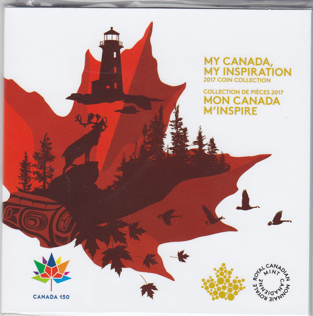 SOLD - 2017 - Canada - My Canada, My Inspiration Collector Card
