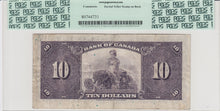 Load image into Gallery viewer, 1935 - Bank of Canada - $10 - VF25 PCGS - retail $775