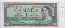 Load image into Gallery viewer, 1954 - Canada - 1 Dollar - *B/M 0899774