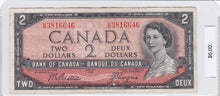 Load image into Gallery viewer, SOLD - 1954 - Canada - 2 Dollars - U/B 3816646