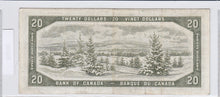 Load image into Gallery viewer, 1954 - Canada - 20 Dollars - B/W 9711913