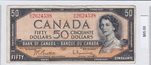 Load image into Gallery viewer, SOLD - 1954 - Canada - 50 Dollars - B/H 2624538