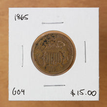 Load image into Gallery viewer, 1865 - USA - 2c - G4 - retail $15