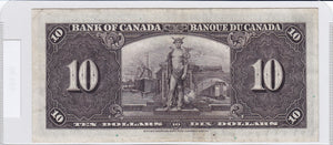 SOLD - 1937 - Canada - 10 Dollars