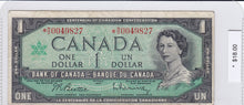Load image into Gallery viewer, 1967 - Canada - 1 Dollar - *N/O 0049827