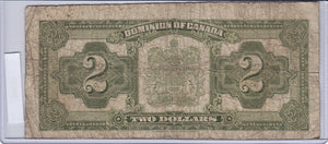 SOLD - 1923 - Canada - 2 Dollars