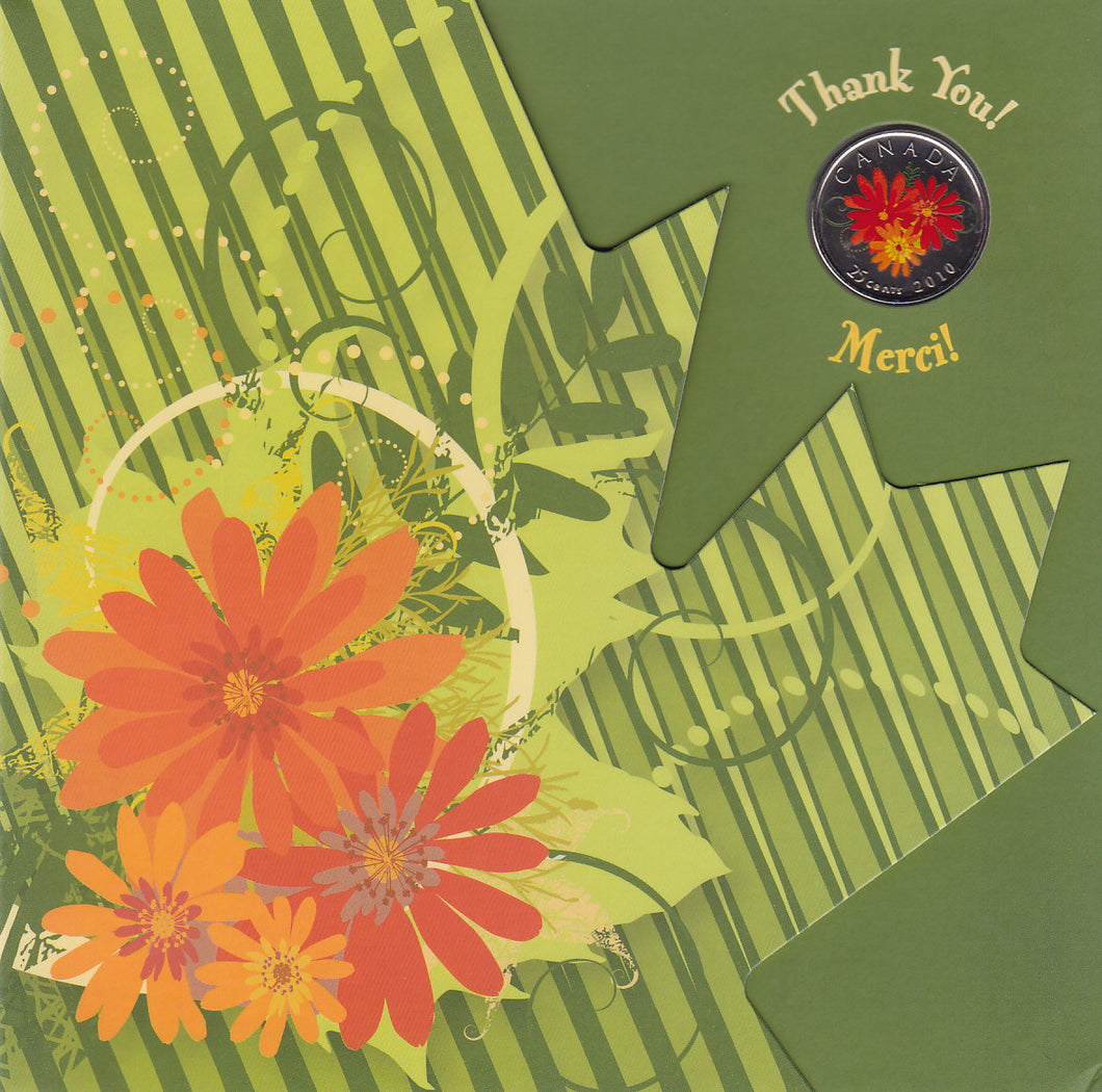 SOLD - 2010 - Canada - Thank You Card