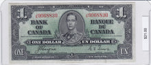 Load image into Gallery viewer, 1937 - Canada - 1 Dollar - J/N 9068830