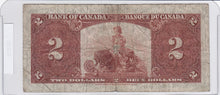 Load image into Gallery viewer, 1937 - Canada - 2 Dollars - B/R 4218591