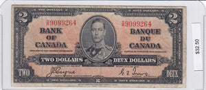 SOLD - 1937 - Canada - 2 Dollars - D/R 9099264