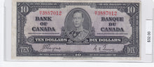 Load image into Gallery viewer, 1937 - Canada - 10 Dollars - H/T 3887012