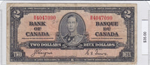 Load image into Gallery viewer, 1937 - Canada - 2 Dollars - B/R 4047090
