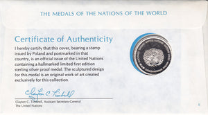 Nations of the World - Medallic Covers - Poland
