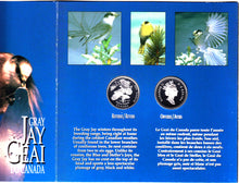 Load image into Gallery viewer, 1995 - Canada - 50 cents - Canada on the Wing - Four-Coin Set - Proof